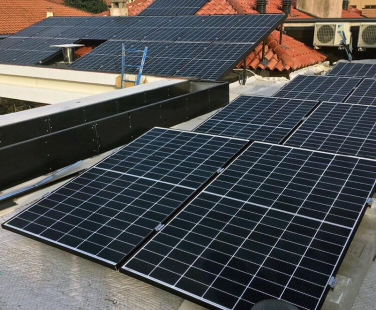 Impianto fotovoltaico 8,40 kWp su strutture differenti