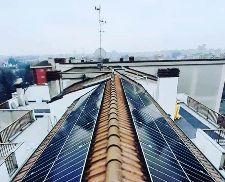 Impianto fotovoltaico con sistema di accumulo