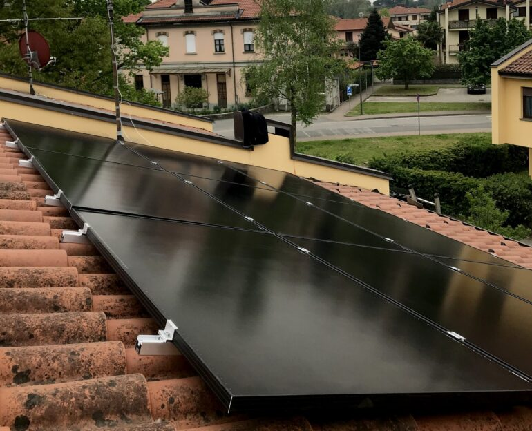 Impianto fotovoltaico residenziale 3,68 kWp