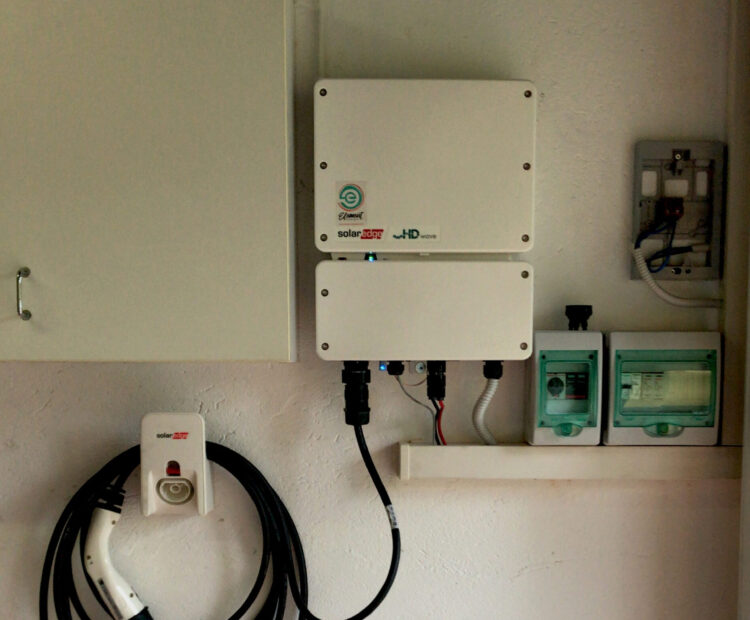 Inverter solaredge con ev charger