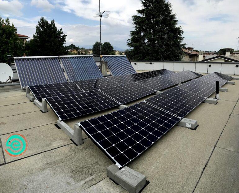 Impianto fotovoltaico 5,93 kWp con sistema connect-min